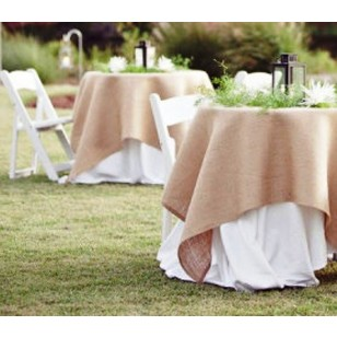Browse And Shop For Burlap Tablecloth 90 X 90