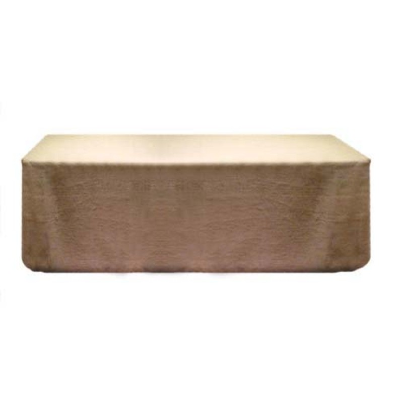 Find Tablecloths 90 X 132 Natural Burlap Online