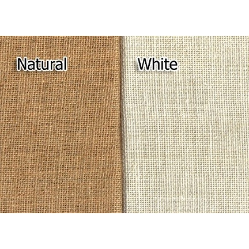 Natural Burlap 90 X 132 Table Throw · Burlap Fabric Samples