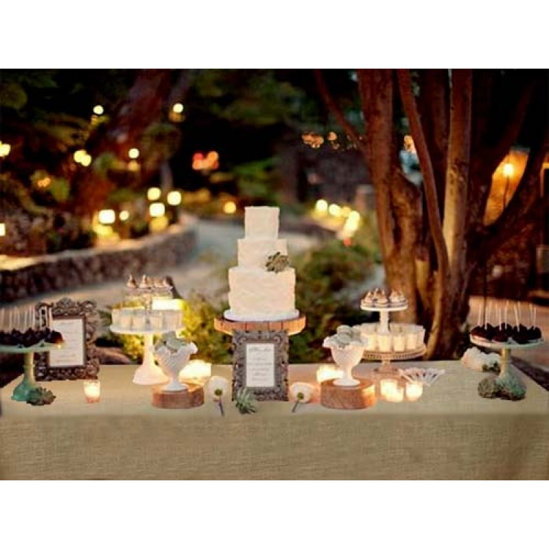Natural Burlap Tablecloth 90 X 156 Banquet.