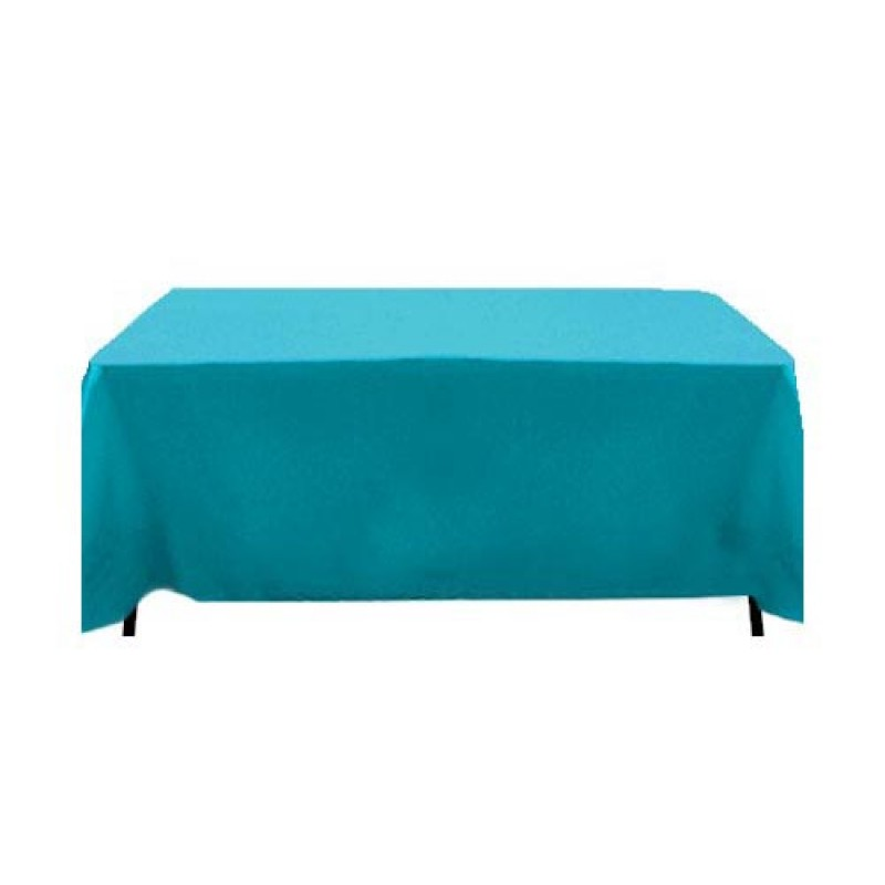 ... 90 X 132 Table Cloth · Havana Faux Burlap Turquoise Table Cover ...