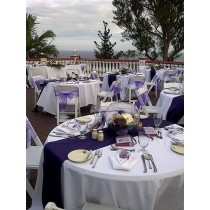 spun poly table linens