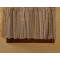 Natural Burlap Curtains 36 x 60 inches