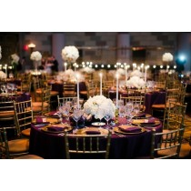 """108"""" x 108"""" Square Polyester Tablecloth"""