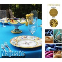 """120"""" Round Majestic Reversible Tablecloth"""