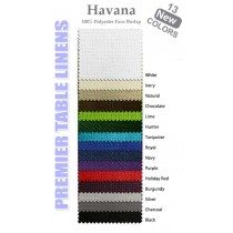 Havana fabric color samples