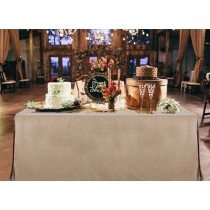 Havana Faux Burlap Fitted table linen