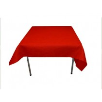 54 x 54 Red Havana Tablecloth