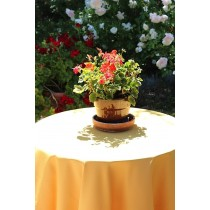 """132"""" Round Polyester Tablecloth"""