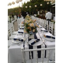 """54"""" x 54"""" Square Polyester Tablecloth"""