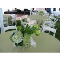 """120"""" x 120"""" Square Majestic Reversible Tablecloth"""