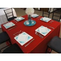 """90"""" x 90"""" Square Majestic Reversible Tablecloth"""