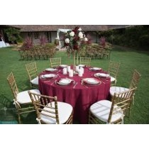 """132"""" Round Majestic Reversible Tablecloth"""