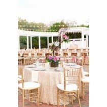 """84"""" Round Majestic Reversible Tablecloth"""