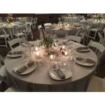 """126"""" Round Majestic Reversible Tablecloth"""