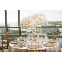 """114"""" Round Majestic Reversible Tablecloth"""