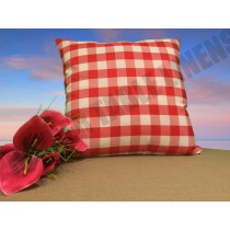 Poly Check pillow