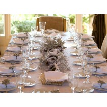 """120"""" x 120"""" Square Polyester Tablecloth"""