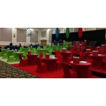 "48"" Round Spandex Fitted Table Cloth"
