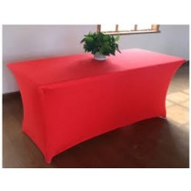 "6'L x 36""H Spandex Rectangular Table Cover"