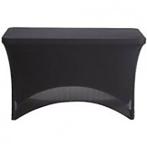 "4' x 36"" Stretch Spandex Fitted Table Cover"