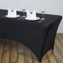 "8'L x 36""H Spandex Rectangular Table Cover"