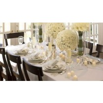 "72"" x 120"" Spun Poly Tablecloth"