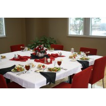 """72"""" x 72"""" Square Polyester Tablecloth"""