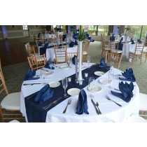 """84"""" Round Polyester Tablecloth"""