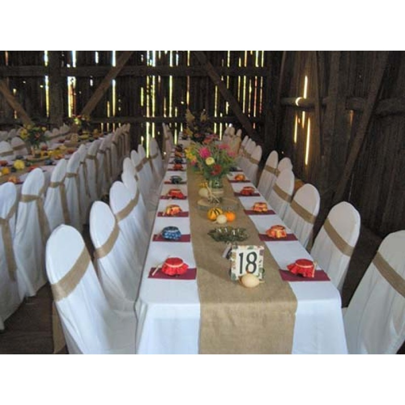 Wonderful Burlap Tablecloths