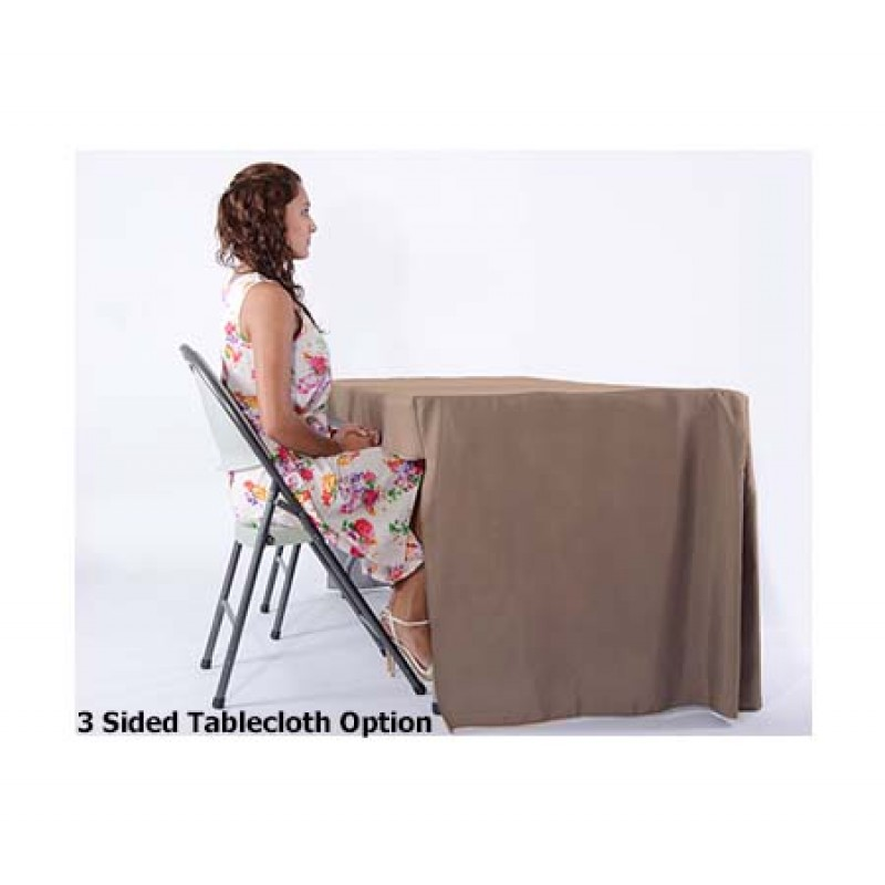 Fitted Tablecloth three sided
