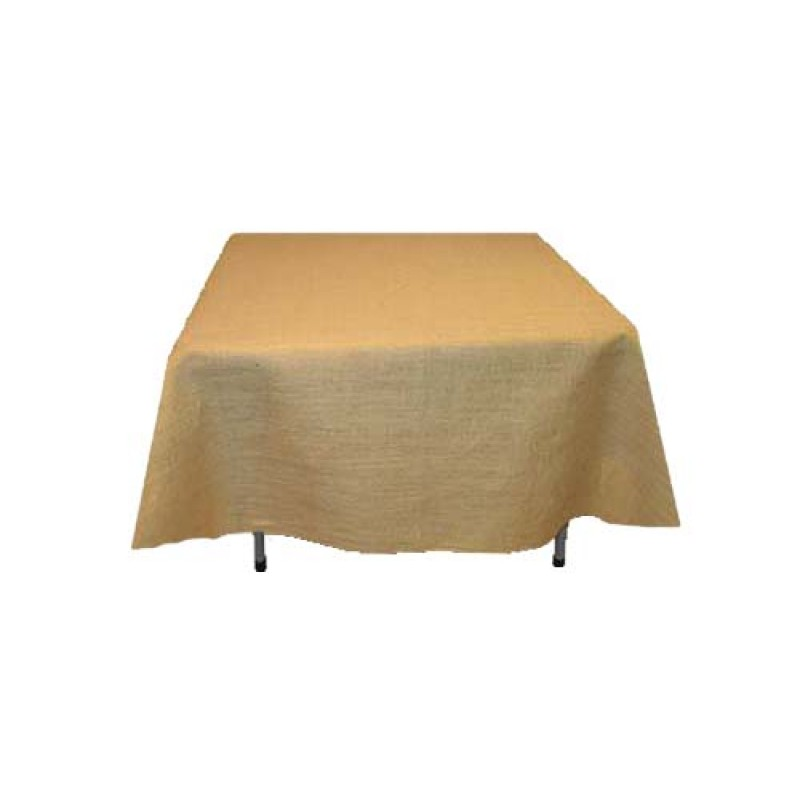 Fine burlap tablecloth 120 x 120 wholesale pricing for 120 table cloth