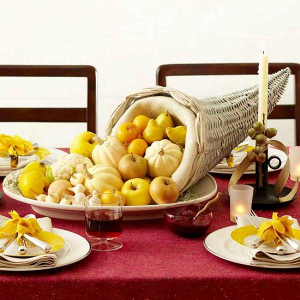 Fall twill tablecloth