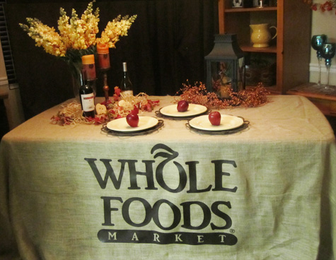 burlap fitted tablecloth