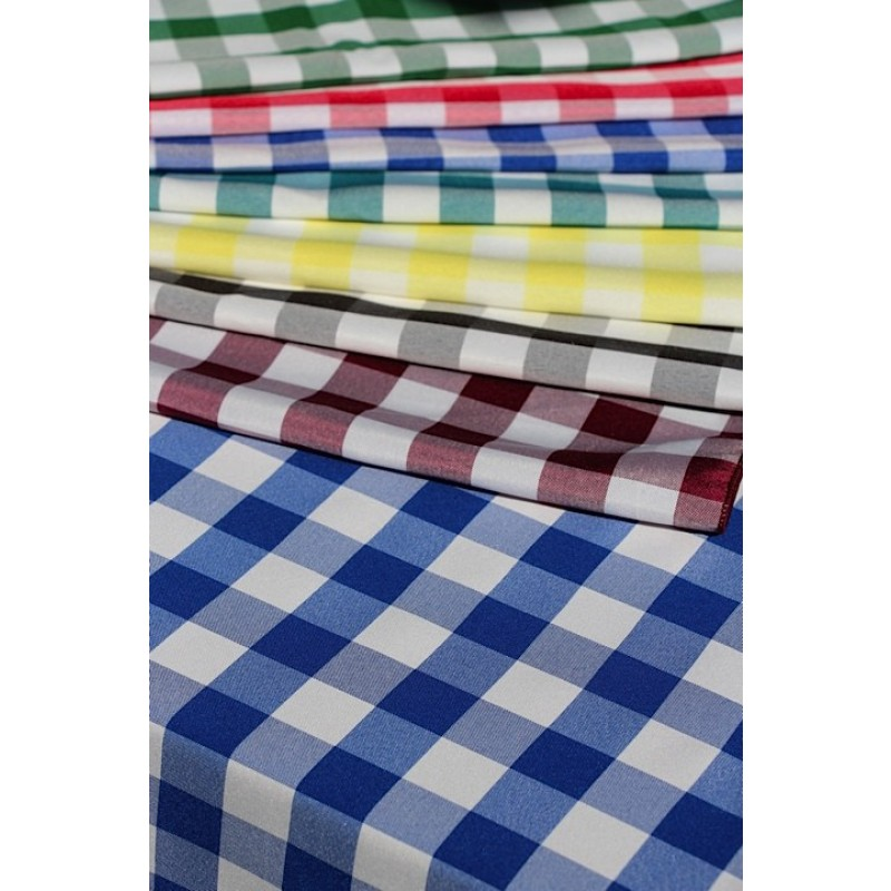 Blue And White Checkered Tablecloth · Checkered Tablecloth ...
