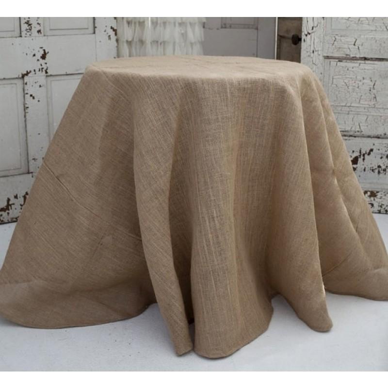 Elegant Burlap U0026 Polyester Tablecloths And Linens