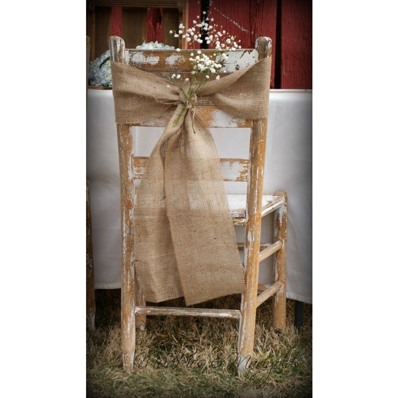 Phenomenal Jute Burlap Chair Sashes 8 X 100 Pabps2019 Chair Design Images Pabps2019Com