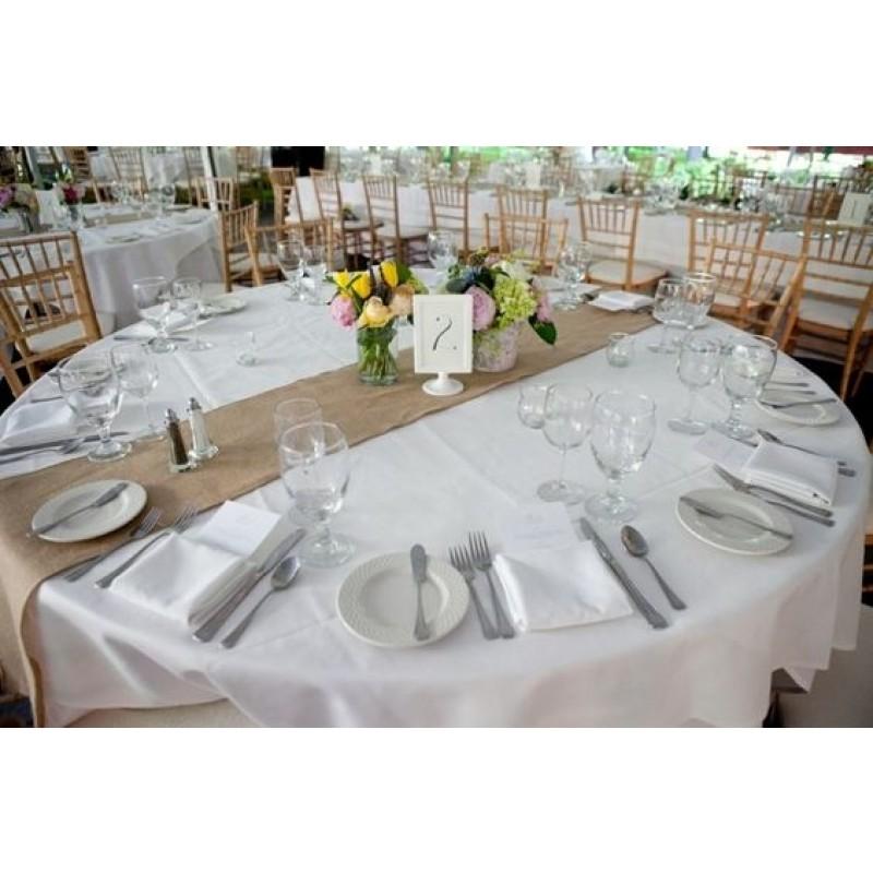 Etonnant ... Runner Wedding · Burlap Table Rummer Catering