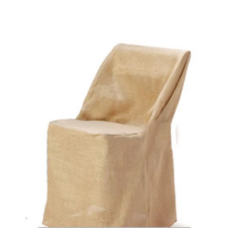 Bon Burlap Chair Cover  Banquet