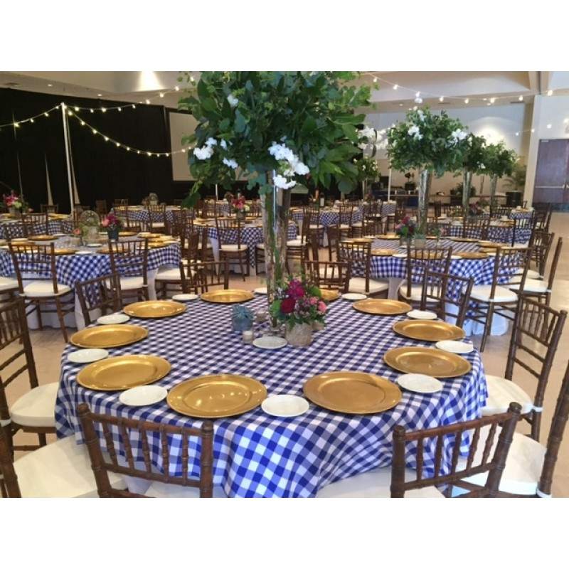Checkered Tablecloths Part - 14: ... blue and white checkered tablecloth ...