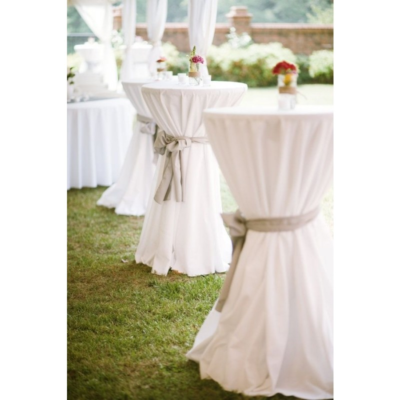 Polyester Color Swatch Card Tail Table Cloth