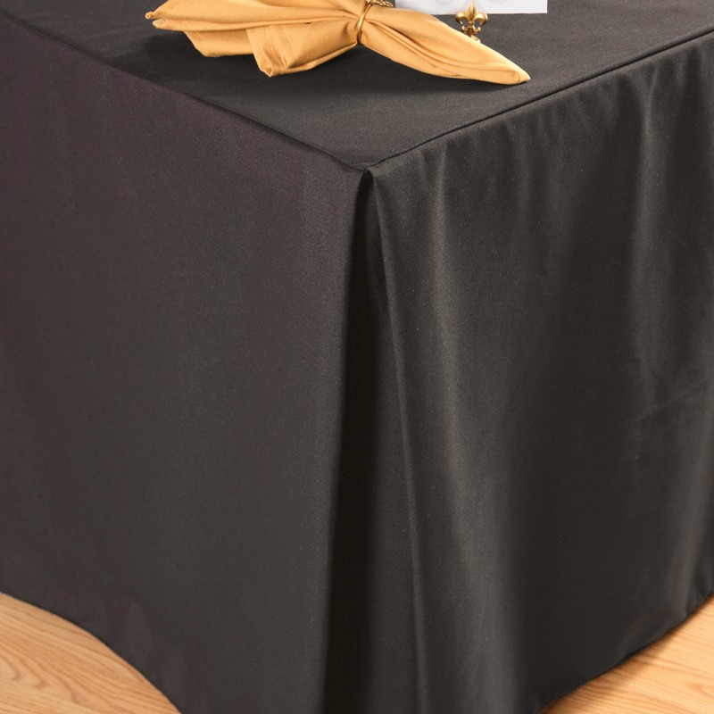 18 X 96 X 42 Fitted Tablecloth Polyester Event Linens