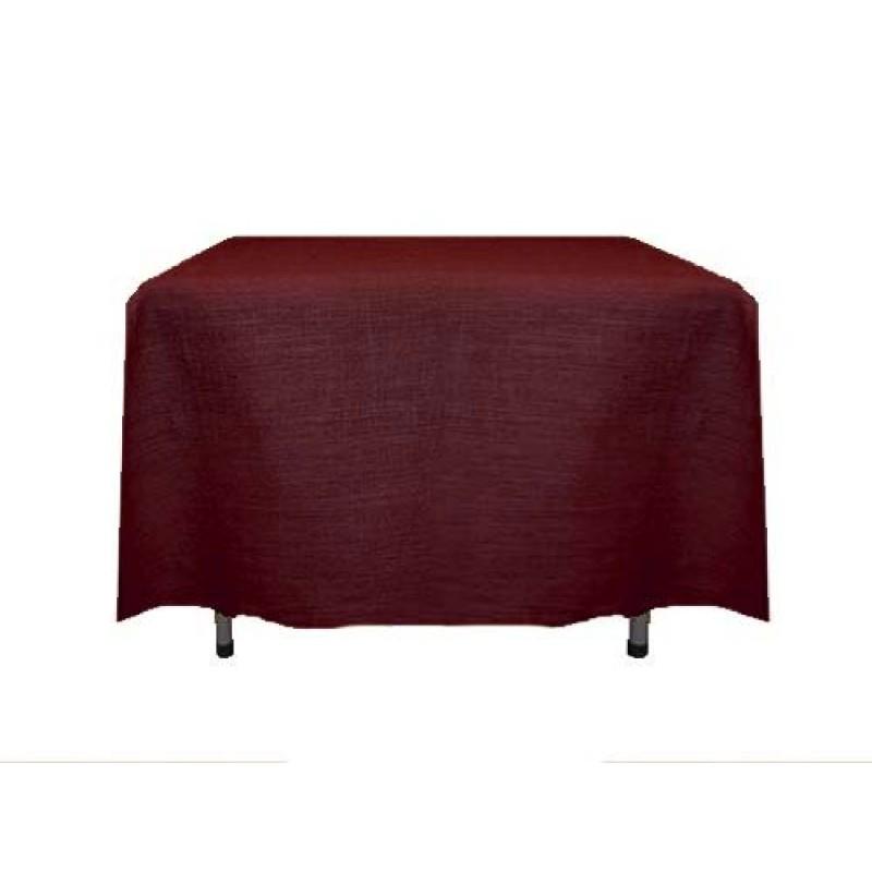 ... Square Havana Table Cover · Burgundy Havana Tablecloth ...