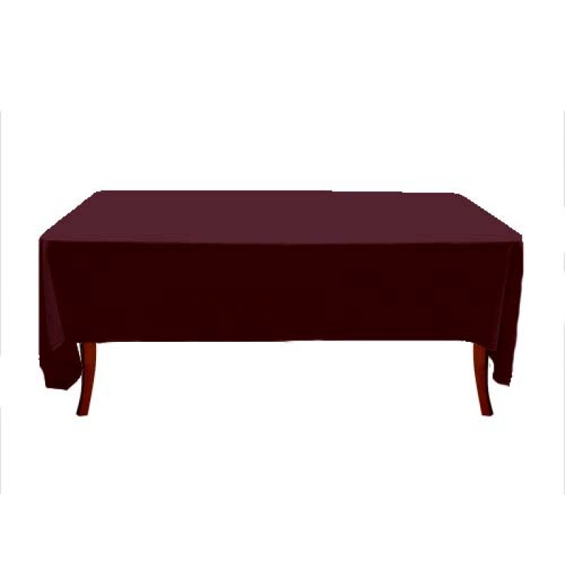 ... Burgundy Rectangle Havana Table Linen ...
