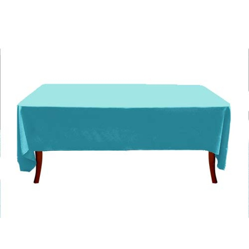 72 X 108 Havana Rectangle Table Cover · Turquoise 72 X 108 Havana Tablecloth  ...