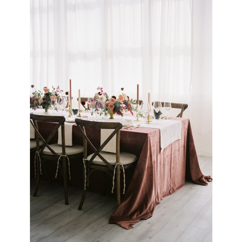Superbe Burlap U0026 Polyester Tablecloths And Linens