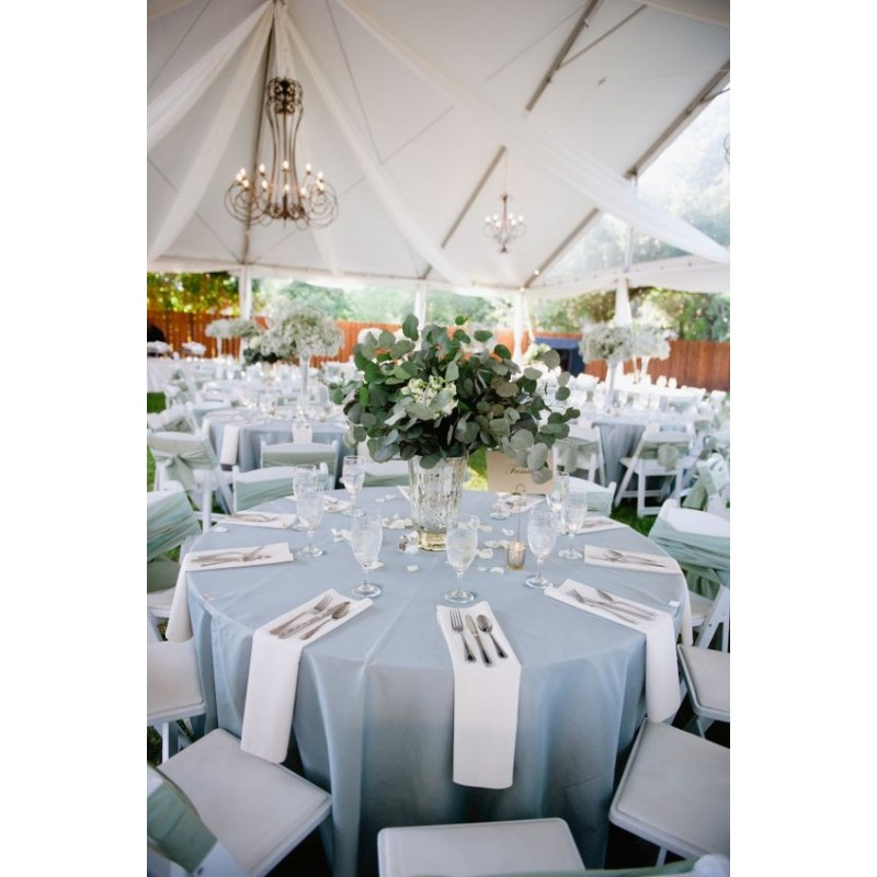 72 Inch Round Polyester Tablecloth