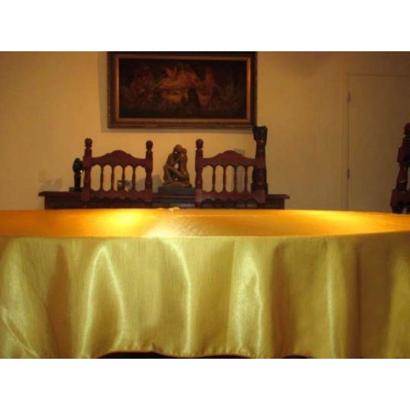 108 X 156 Inch Rectangular Majestic Dupioni Tablecloth