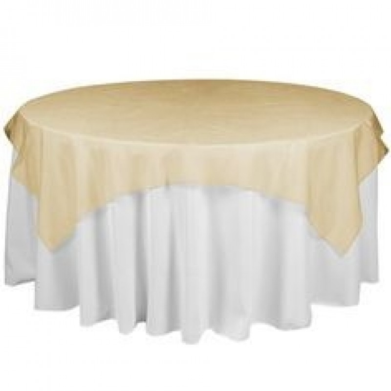 Organza Wedding Table Overlays 60 Quot Square
