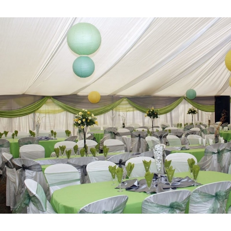 80 X 100 Inch Oval Polyester Tablecloth